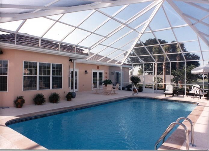 Fort Myers Pool Enclosures Products White Aluminum Amp Windows Fort Myers