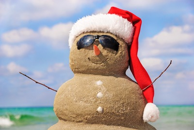 Holiday Sandsculpting: A Fort Myers Tradition